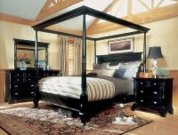 Magnussen Hastings King Size Four Poster Canopy Bed Set ...