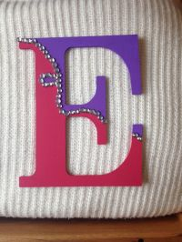 28 best images about Wooden Decorated Letters on Pinterest ...