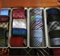 17 Best ideas about Organize Ties on Pinterest