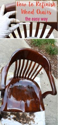 Best 20+ Refinished Chairs ideas on Pinterest ...