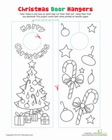 17 Best images about Christmas Coloring Sheets on