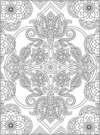 76 mejores imgenes sobre Mandalas para colorear en