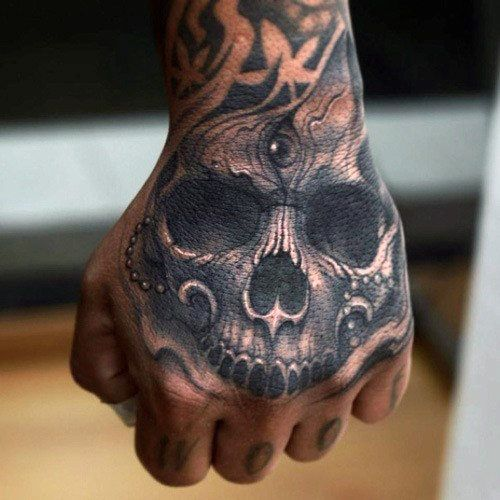 51ca1b3f0f4c1 20 Hand And Finger Tattoos For Men Ideas And Designs