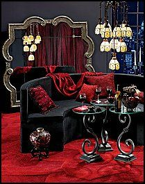 Love the French Boudoir styleI picture a finished basement turned to a swanky loungeADULTS ONLY!!