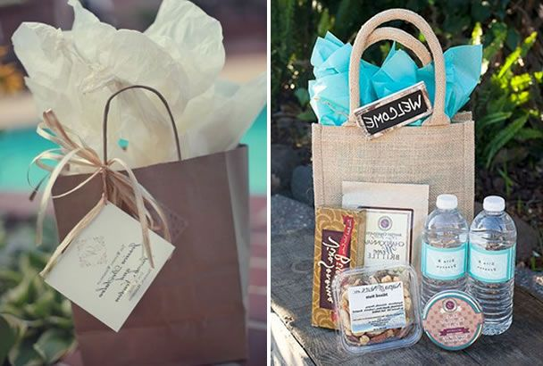 Gift Bags For Wedding Guests Ideas