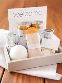 25+ best ideas about Guest Welcome Baskets on Pinterest ...