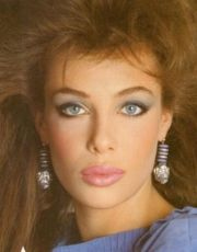 kelly lebrock 1980's makeup