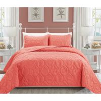 1000+ ideas about Coral Bedspread on Pinterest | Coral ...