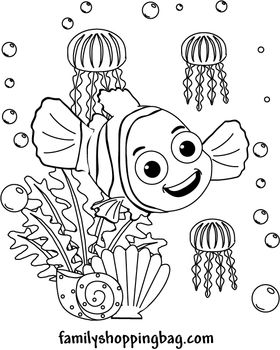 25+ best ideas about Finding nemo coloring pages on