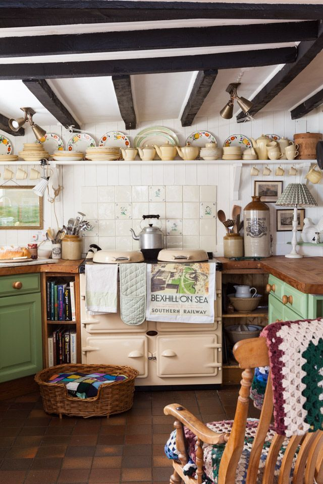 Country_Living_Photography Like this kitchen with the