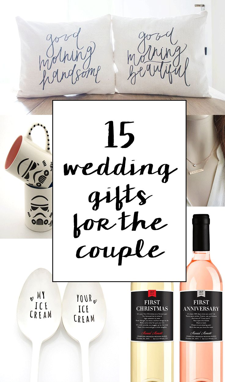 15 sentimental wedding gifts for the couple creative