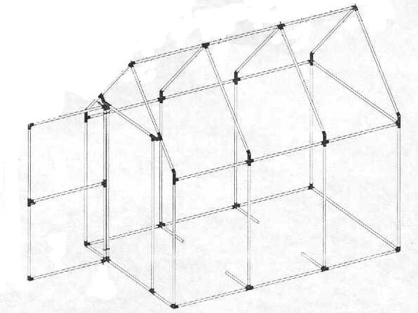 Pvc greenhouse, Greenhouse plans and House plans with