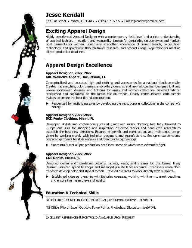1000 Ideas About Fashion Resume On Pinterest Fashion Cv