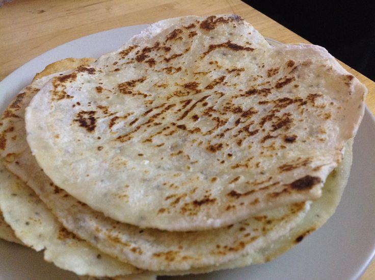 Lempeng Tepung Beras dan Tepung Ubi  Rice and Tapioca Flour Tortilla  Rice and Image