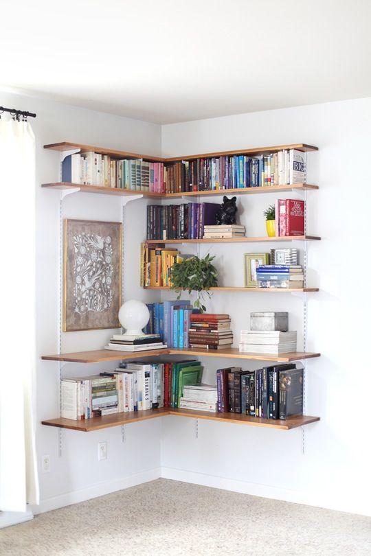 Wall Mounted Shelving Systems You Can Diy Bookshelf Ideas Diybedroom