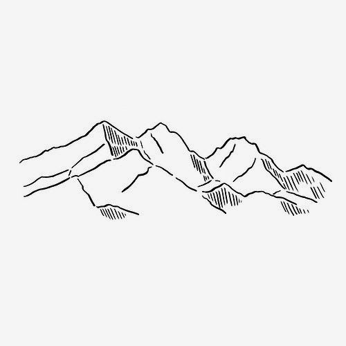 25+ best ideas about Mountain drawing on Pinterest