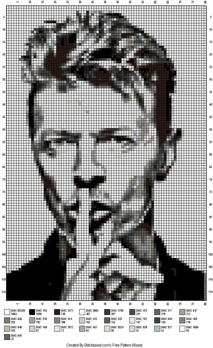 Wow This is a good find Its cross stitch but not hard to crochet well not for me anyway