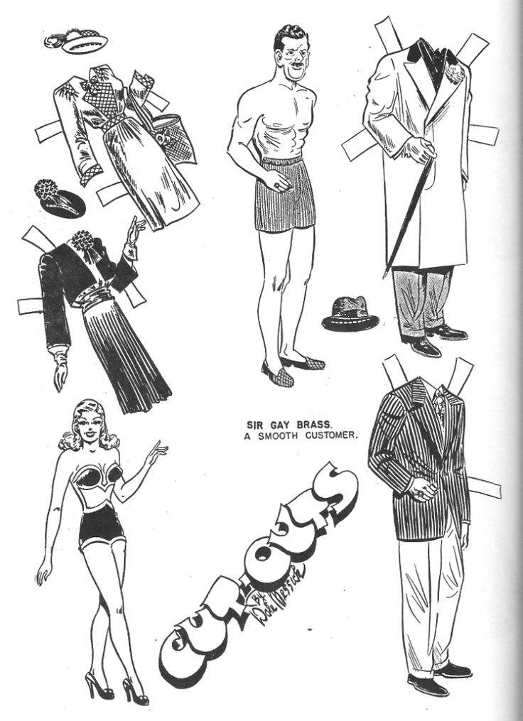 1000+ images about Fit to cut paper dolls on Pinterest