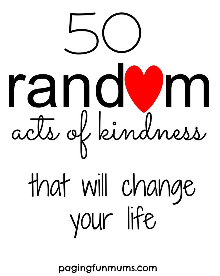 17 Best images about Random Acts of Kindness on Pinterest