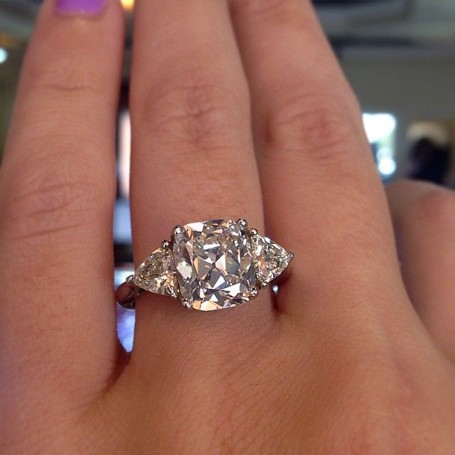 1000 Ideas About Trillion Engagement Ring On Pinterest