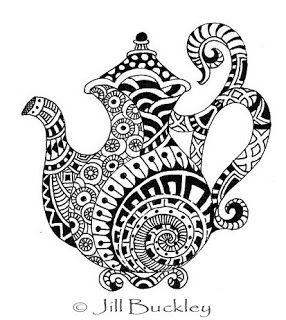 82 best images about Tea Coloring Art Print Pages