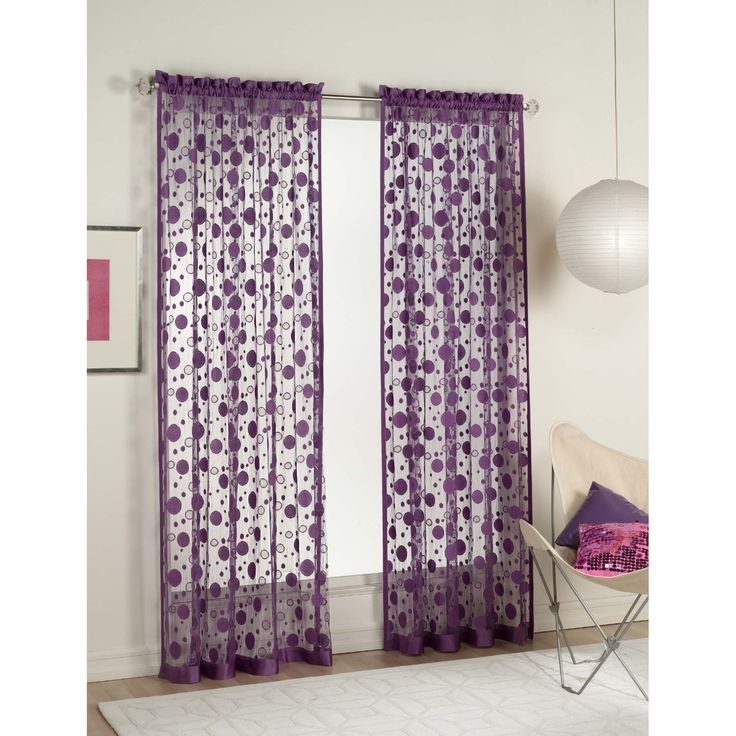 1000 ideas about Purple Bedroom Curtains on Pinterest