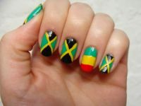 cool jamaican nail art. For more Nail Art ideas, visit www ...