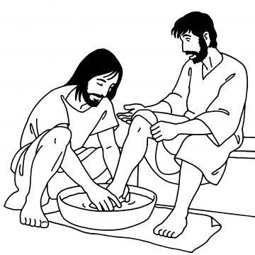 John 13, Jesus and Van on Pinterest