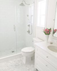 25+ best ideas about Small white bathrooms on Pinterest