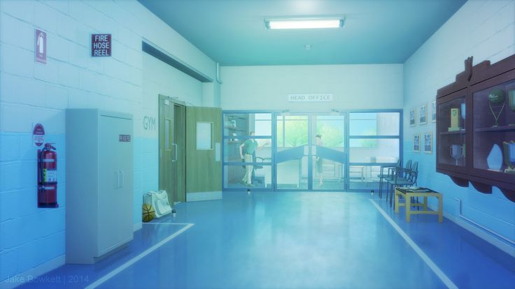 anime School Hall