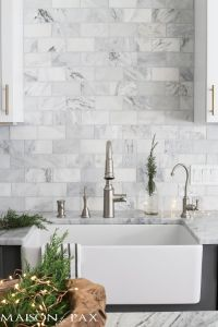 25+ best ideas about Carrara marble kitchen on Pinterest