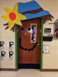 Office Door: Thanksgiving Office Door Decorating Ideas