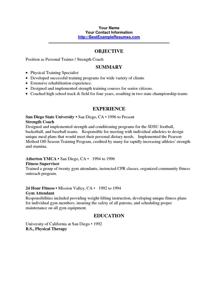 25 best ideas about Resume Objective on Pinterest