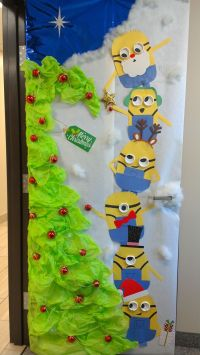 1000+ ideas about Minion Door Decorations on Pinterest