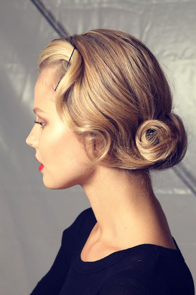 The Great Gatsby Prom Hair