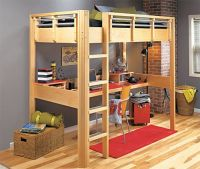 How To Make A Loft Bed With Desk Underneath - WoodWorking ...
