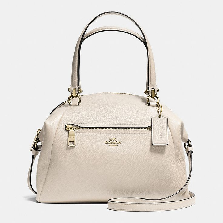 Prairie Satchel in Pebble Leather #coach #handbags