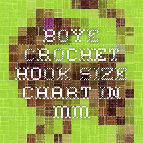 17 Best Images About Boye Crochet Hooks Crochet Hooks