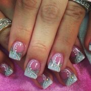 6210 funky french tip nails
