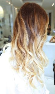 pretty brown blonde ombre hair