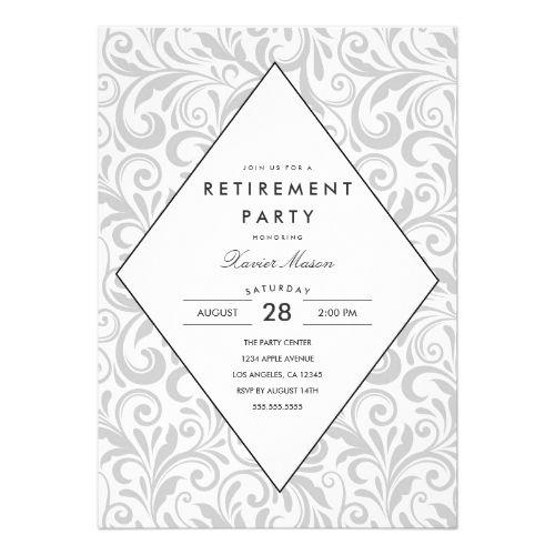 Best 25+ Retirement invitations ideas only on Pinterest