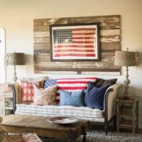 Americana Living Room Decorating Ideas