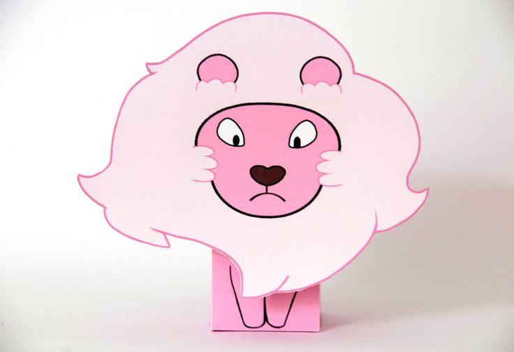 Cute Garnet Wallpaper Steven Universe Lion Papercraft Cubeecraft By Scarykurt