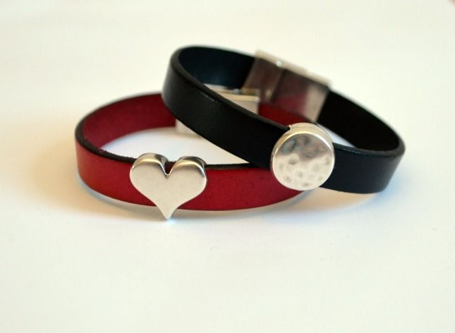 Easy Leather Cuff Bracelets One Artsy Mama Quotpopular