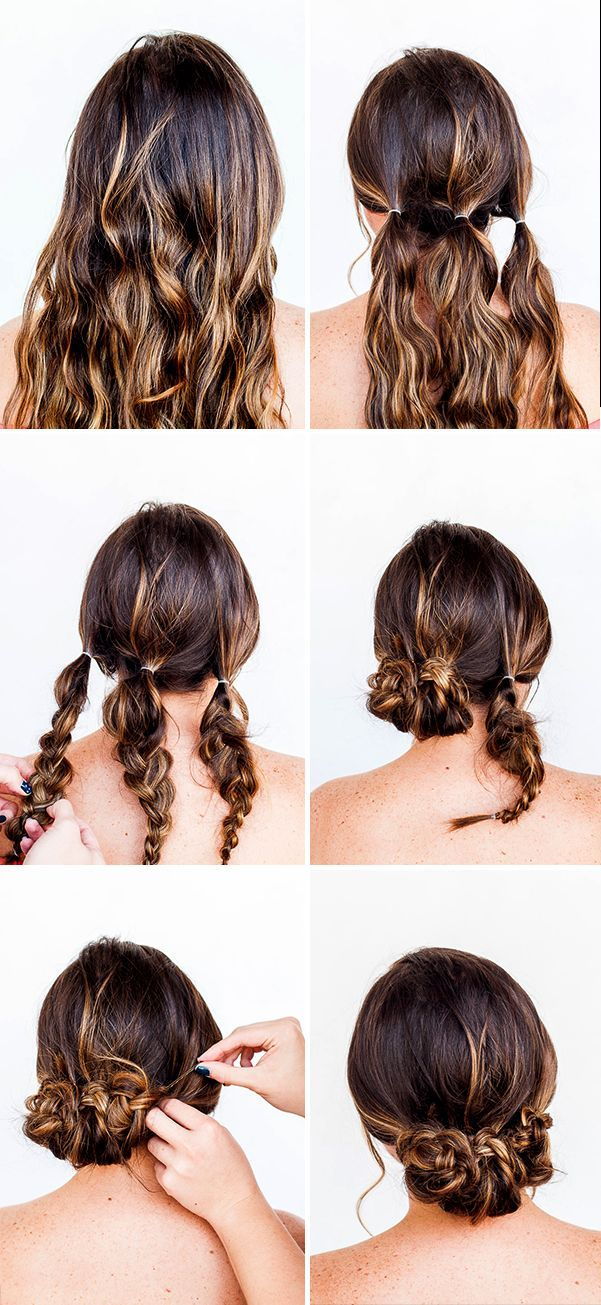 25 Best Ideas About Quick Easy Updo On Pinterest Easy Hair Up