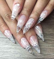 ideas clear nails