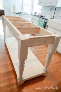 1000+ ideas about Build Kitchen Island on Pinterest