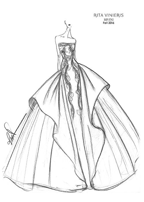 1217 best images about SKETCHES Brides on Pinterest