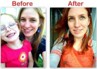 before and after blonde hair color reviews using henna for