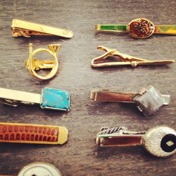 Vintage tie clips view board httppinterestcom